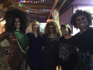 Me, my friend Stephanie and the ladies!